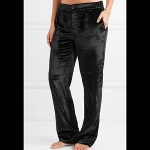 EQUIPMENT Odette velvet pajama pants
